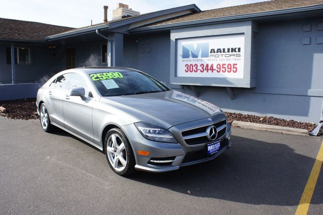 2013 Used Mercedes-Benz CLS CLS550 at Maaliki Motors Serving Aurora,  Denver, CO, IID 18382549