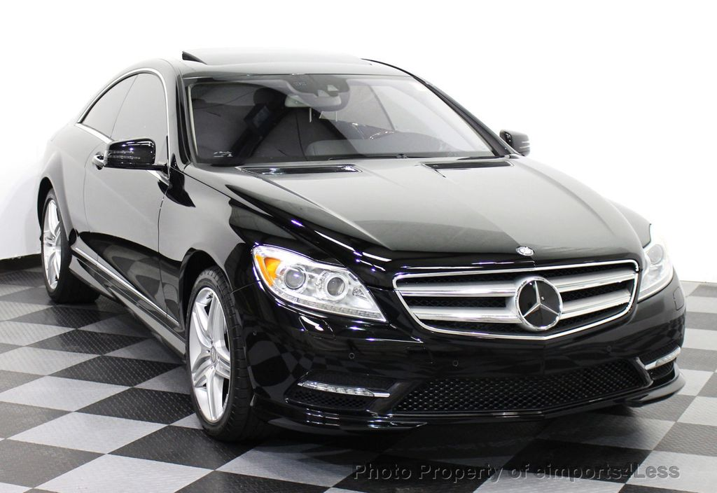 2013 used mercedes benz certified cl550 4matic awd coupe for Mercedes benz cpo