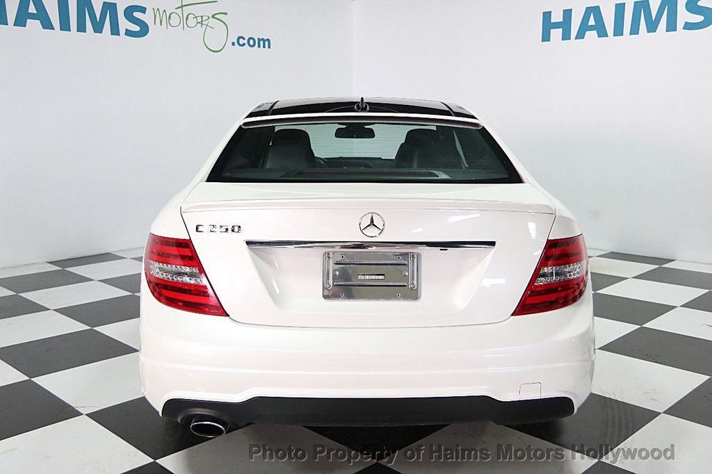 2013 Mercedes-Benz C-Class 2dr Coupe C250 RWD - 15305437 - 4