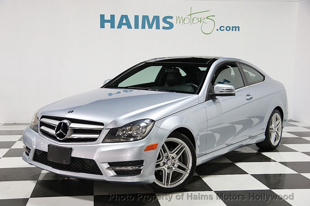 2013 Used Mercedes Benz C Class 2dr Coupe C250 Rwd At
