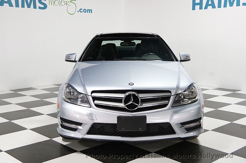 2013 used mercedes benz c class 2dr coupe c250 rwd at haims motors serving fort lauderdale. Black Bedroom Furniture Sets. Home Design Ideas