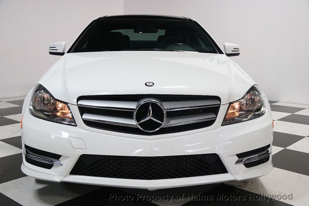 2013 used mercedes benz c class 2dr coupe c250 rwd at haims motors hollywood serving fort. Black Bedroom Furniture Sets. Home Design Ideas
