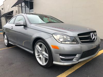 2013 Mercedes-Benz C-Class 2dr Coupe C 250 RWD