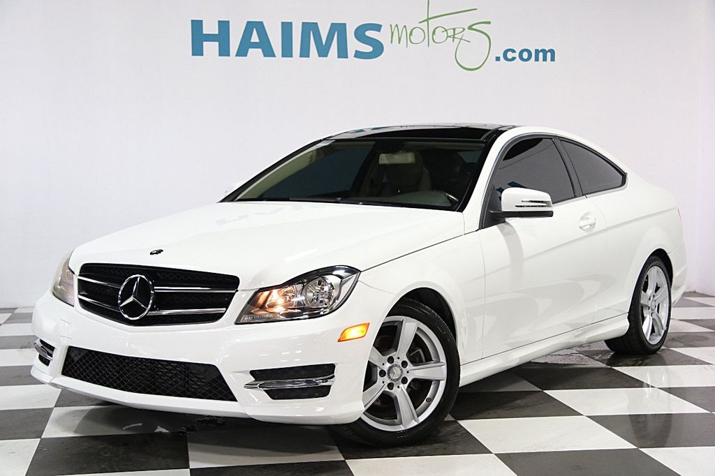 2013 used mercedes benz c class 2dr coupe c250 rwd at for 2013 mercedes benz c class c350