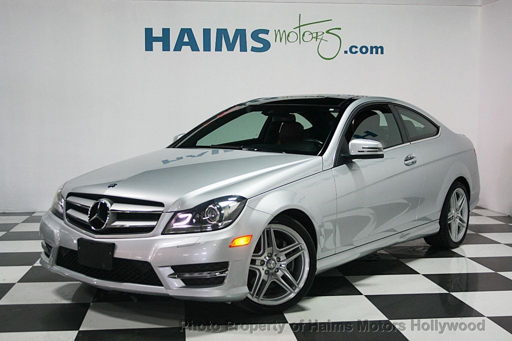 2013 used mercedes benz c class 2dr coupe c350 4matic at for 2013 mercedes benz c350