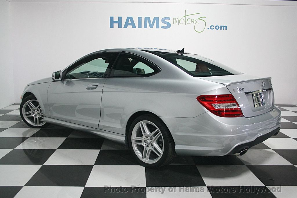 2013 used mercedes benz c class 2dr coupe c350 4matic at for 2013 mercedes benz c350 coupe
