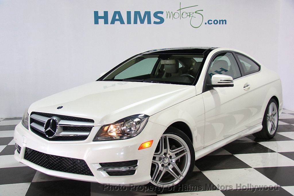 2013 used mercedes benz c class 2dr coupe c 350 rwd at haims motors serving fort lauderdale. Black Bedroom Furniture Sets. Home Design Ideas