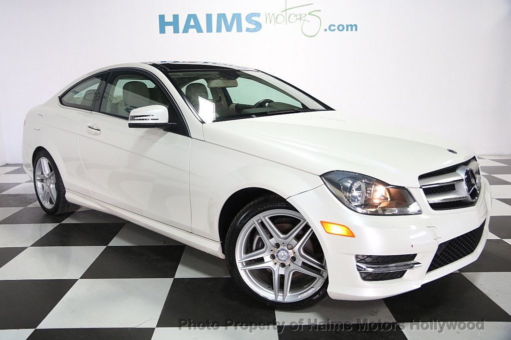 2013 used mercedes benz c class 2dr coupe c 350 rwd at haims motors hollywood serving fort. Black Bedroom Furniture Sets. Home Design Ideas