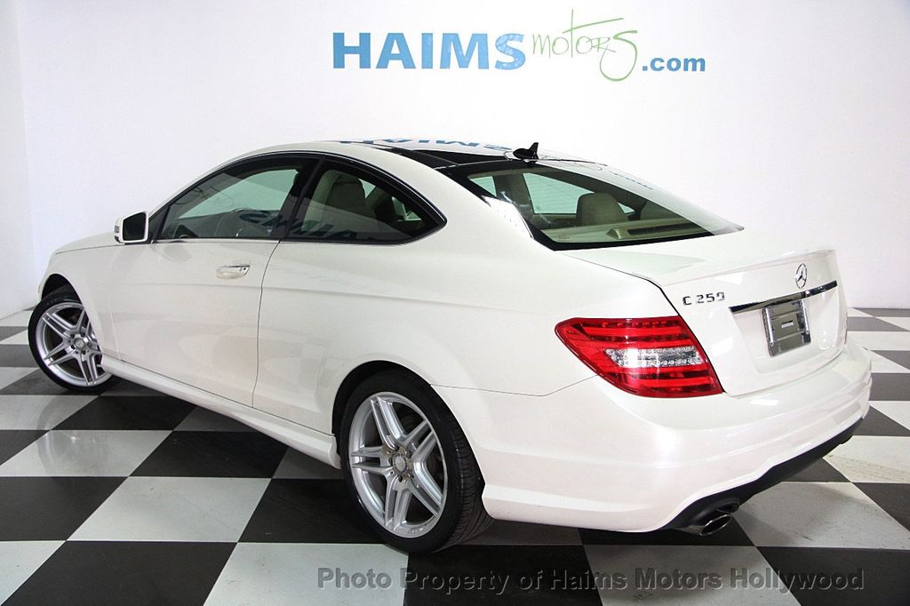 2013 used mercedes benz c class 2dr coupe c 350 rwd at for Mercedes benz c class coupe 2013