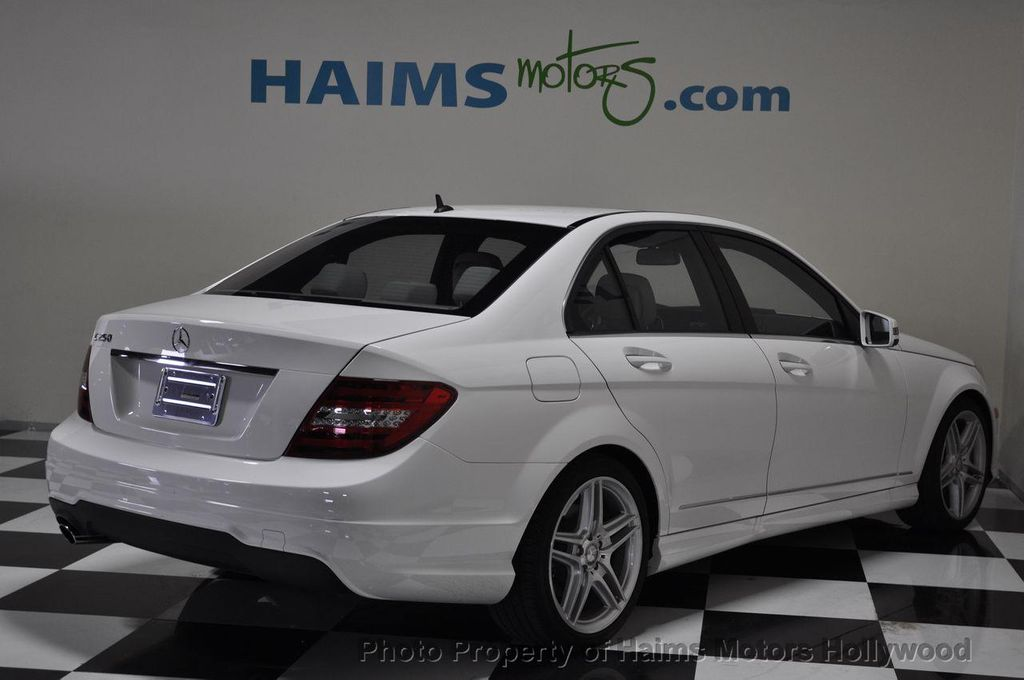2013 used mercedes benz c class 4dr sdn c250 sport rwd at for 2013 mercedes benz c250 sport sedan price