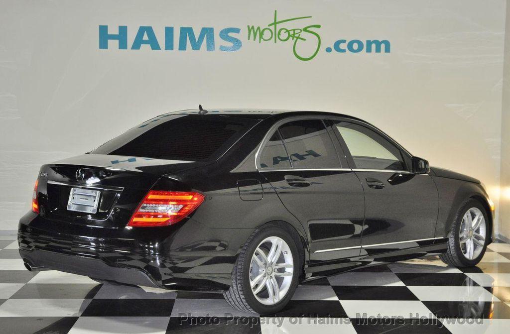 2013 used mercedes benz c class 4dr sedan c250 sport rwd at haims motors serving fort lauderdale. Black Bedroom Furniture Sets. Home Design Ideas