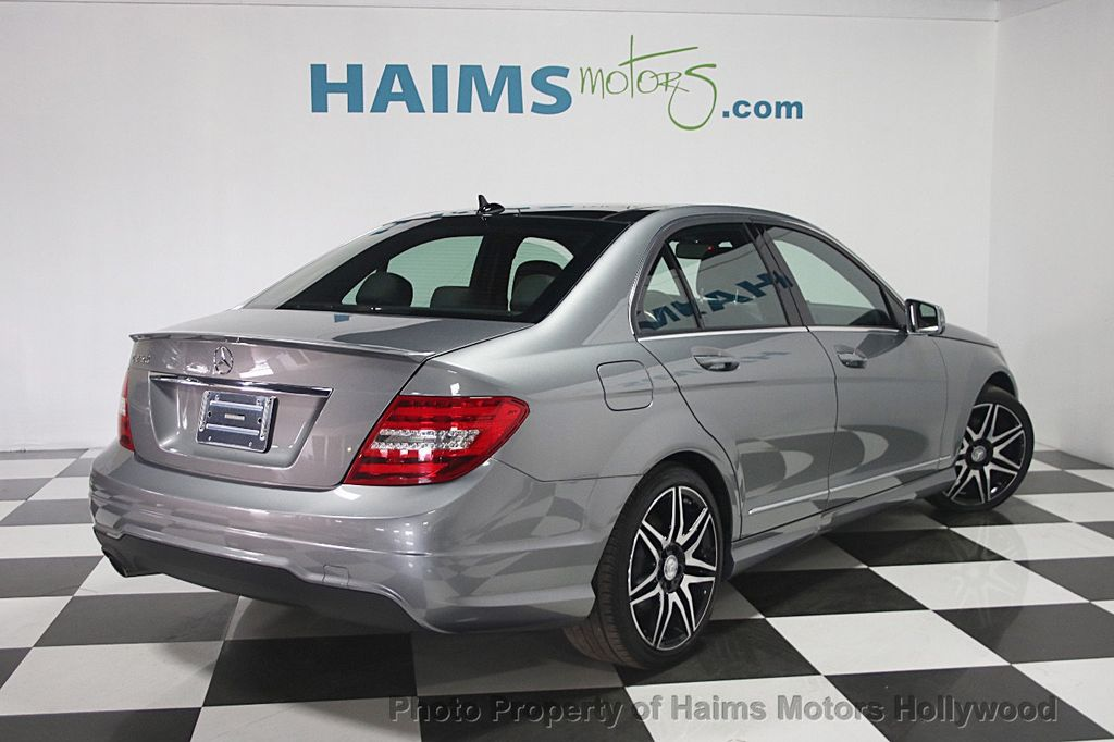 2013 used mercedes benz c class 4dr sedan c250 sport rwd