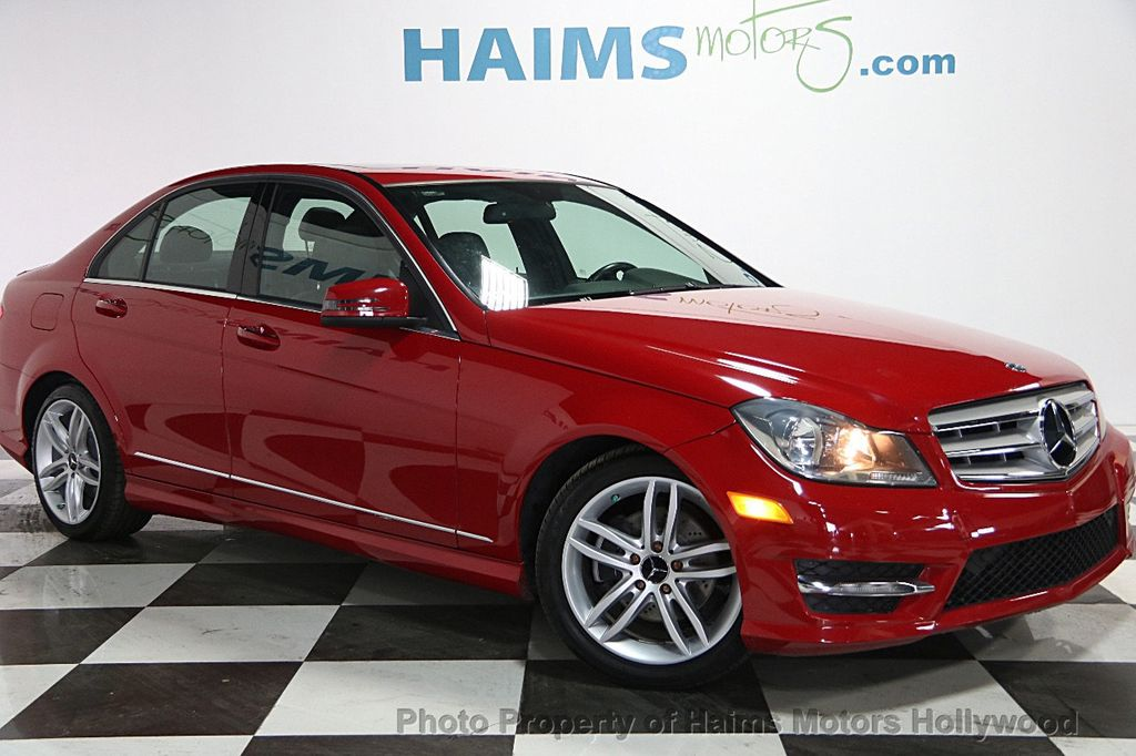 2013 used mercedes benz c class 4dr sedan c250 sport rwd for Mercedes benz c class coupe 2013