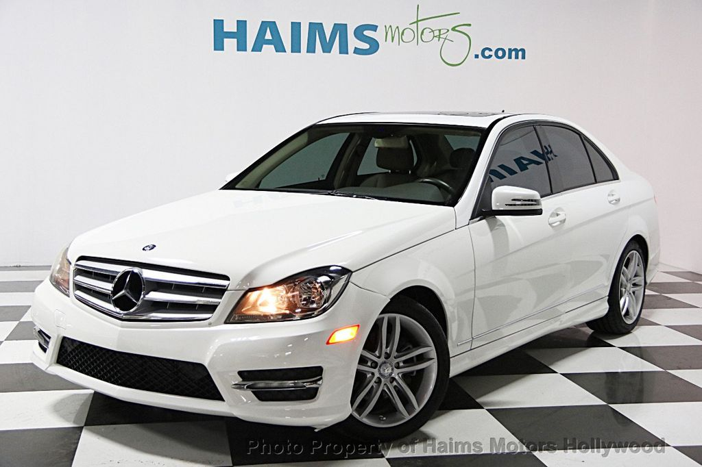 2013 used mercedes benz c class 4dr sedan c 250 sport rwd at haims motors hollywood serving fort. Black Bedroom Furniture Sets. Home Design Ideas