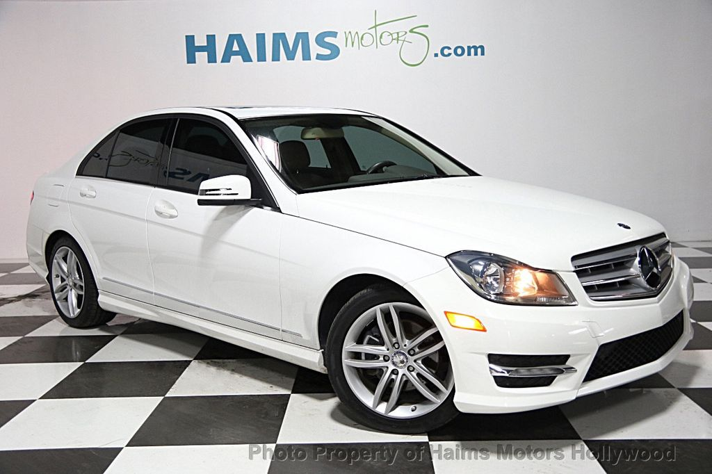 2013 used mercedes benz c class 4dr sedan c 250 sport rwd for Mercedes benz c class coupe 2013