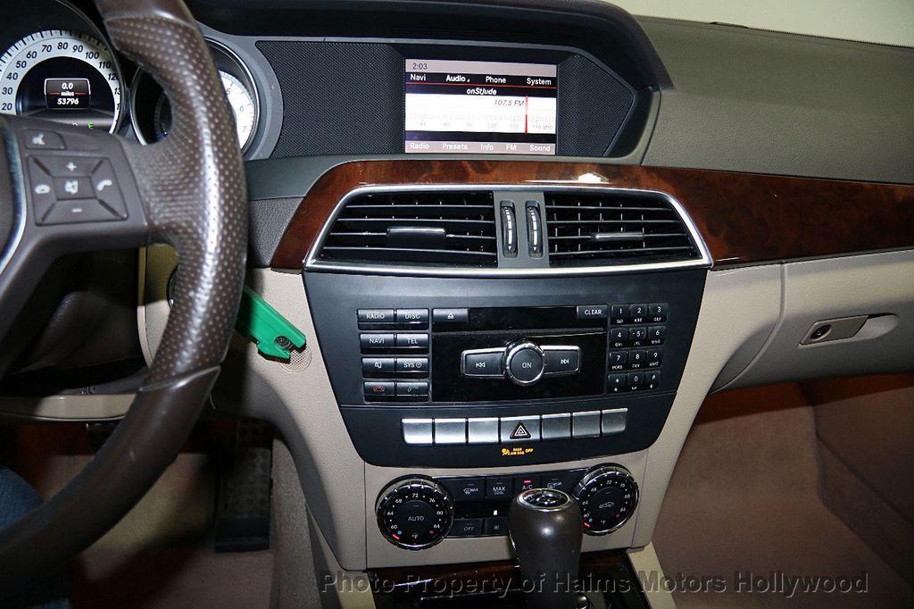 2013 Mercedes-Benz C-Class 4dr Sedan C 250 Sport RWD - 17124156 - 19
