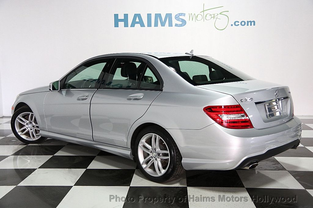 2013 used mercedes benz c class 4dr sedan c300 sport for Mercedes benz credit card review