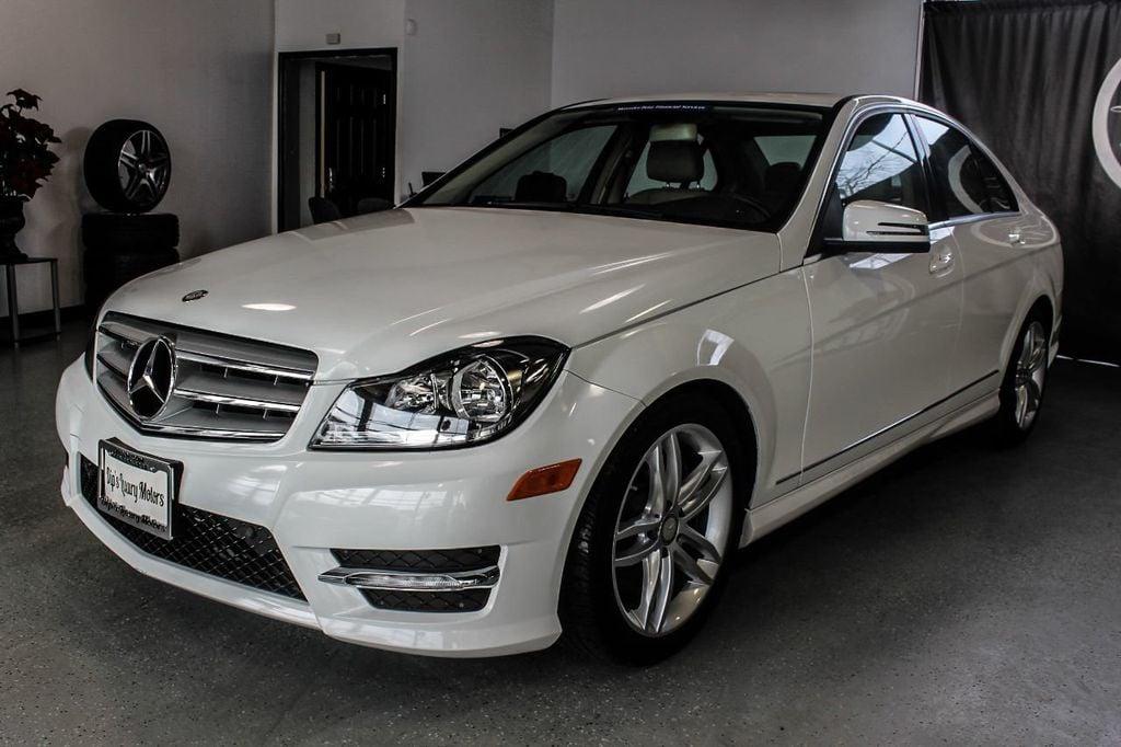 2013 Used Mercedes Benz C Class 4dr Sedan C300 Sport 4matic At Dip S Luxury Motors Serving Elizabeth Nj Iid 14820304