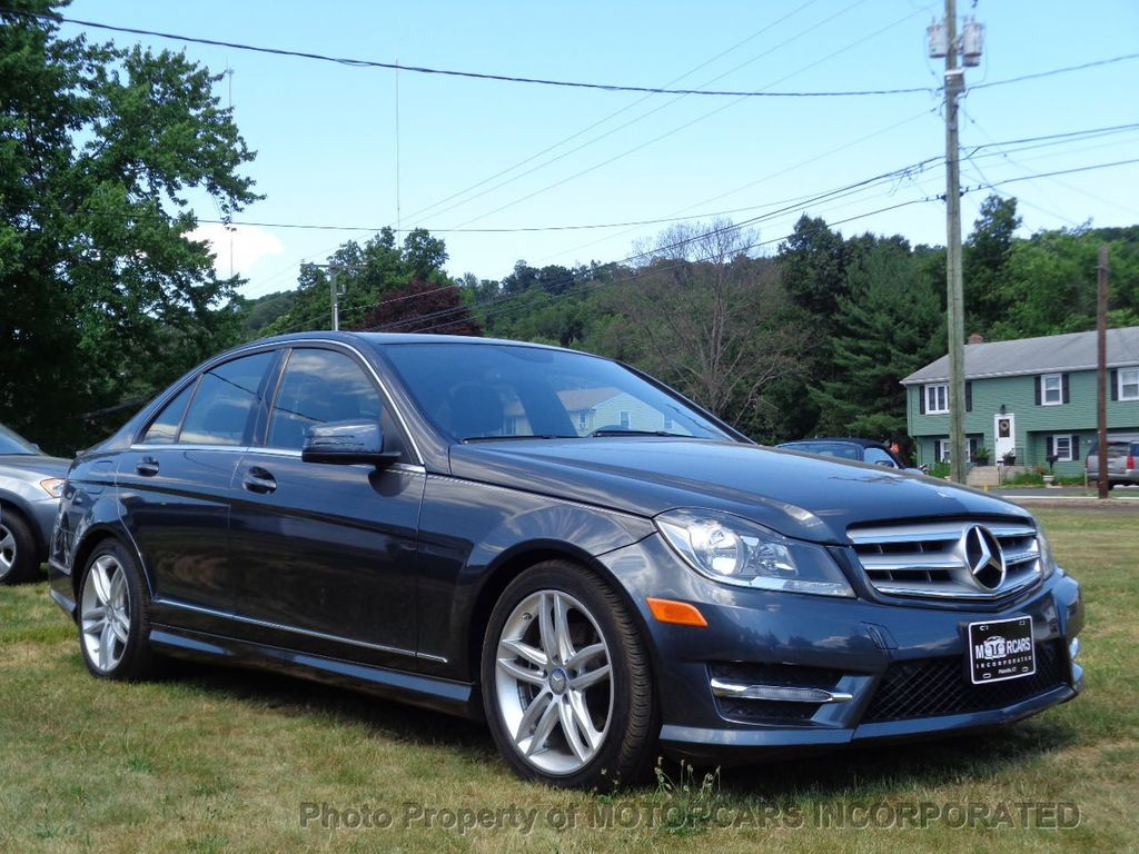 2013 Used Mercedes-Benz C-Class C 250 4dr Sedan C250 Sport RWD at MOTORCARS  INCORPORATED Serving Plainville, CT, IID 15260184