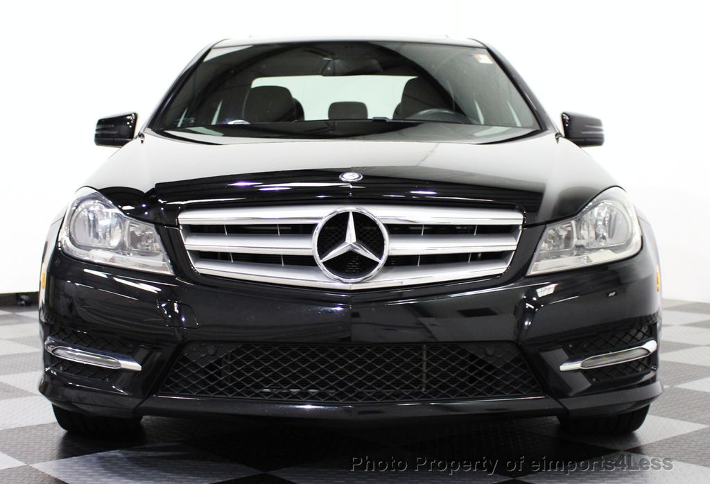 2013 used mercedes benz c class certified 4matic sport awd back up camera navigation at. Black Bedroom Furniture Sets. Home Design Ideas