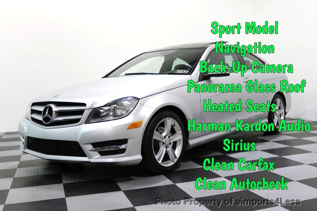 2013 Mercedes-Benz C-Class CERTIFIED C250 Sport Package MULTIMEDIA CAMERA NAVI - 17425270 - 0