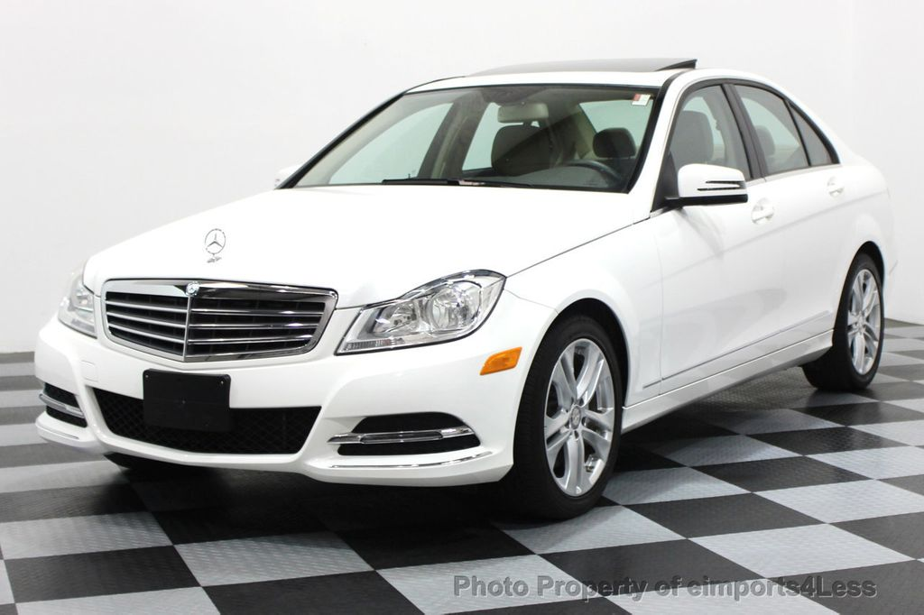 2013 Mercedes-Benz C-Class CERTIFIED C300 4Matic LUXURY MODEL AWD NAVIGATION - 16381218 - 0