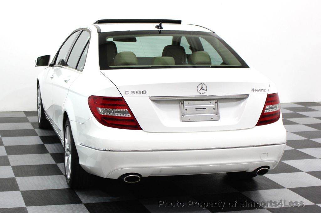 2013 Mercedes-Benz C-Class CERTIFIED C300 4Matic LUXURY MODEL AWD NAVIGATION - 16381218 - 14