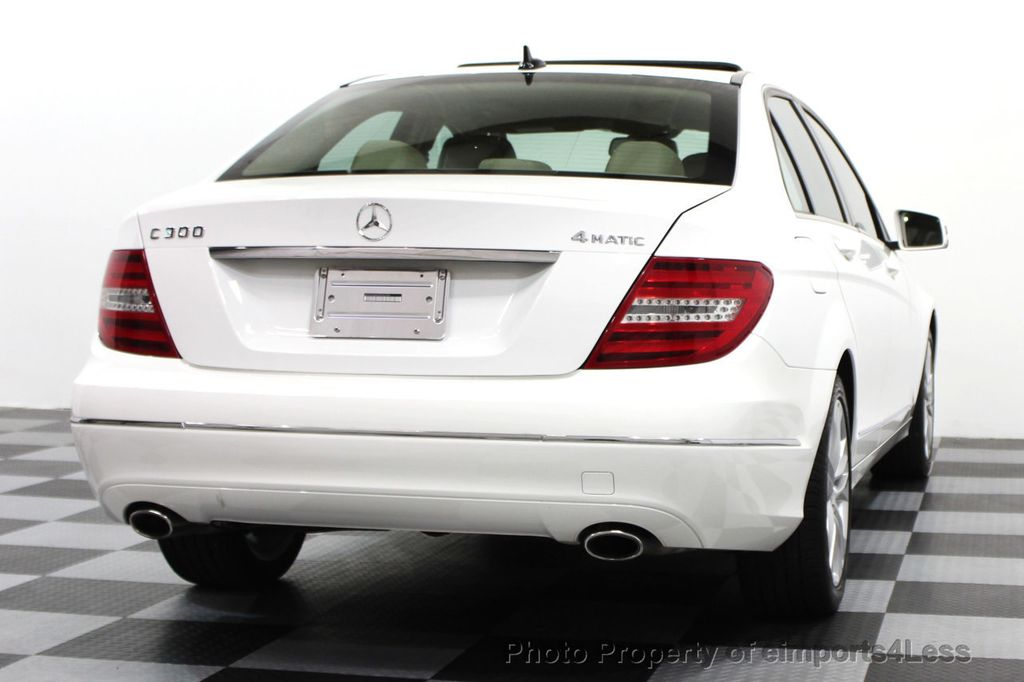 2013 Mercedes-Benz C-Class CERTIFIED C300 4Matic LUXURY MODEL AWD NAVIGATION - 16381218 - 16