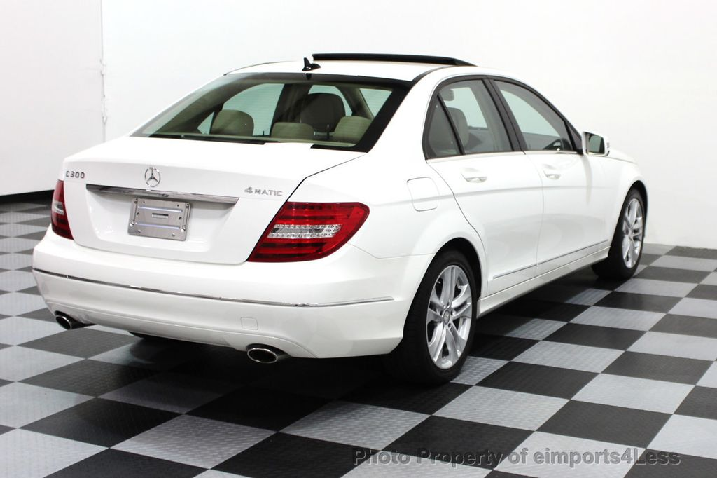 2013 Mercedes-Benz C-Class CERTIFIED C300 4Matic LUXURY MODEL AWD NAVIGATION - 16381218 - 17