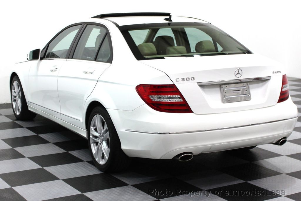 2013 Mercedes-Benz C-Class CERTIFIED C300 4Matic LUXURY MODEL AWD NAVIGATION - 16381218 - 23