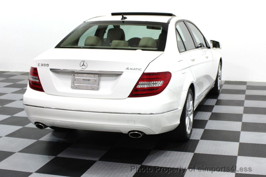 2013 Mercedes-Benz C-Class CERTIFIED C300 4Matic LUXURY MODEL AWD NAVIGATION - 16381218 - 24