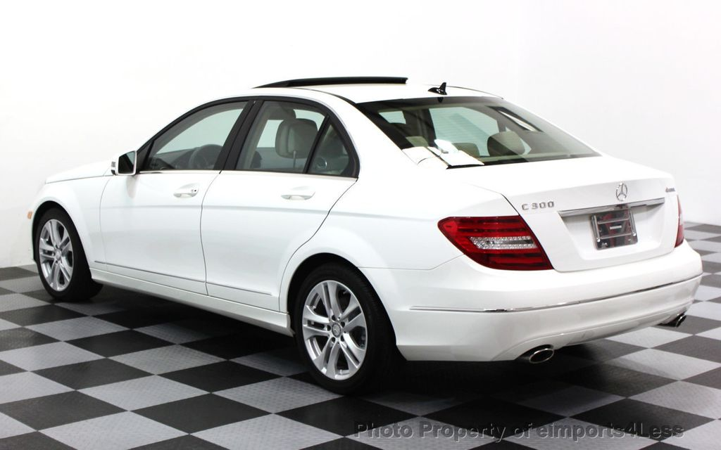 2013 Mercedes-Benz C-Class CERTIFIED C300 4Matic LUXURY MODEL AWD NAVIGATION - 16381218 - 2