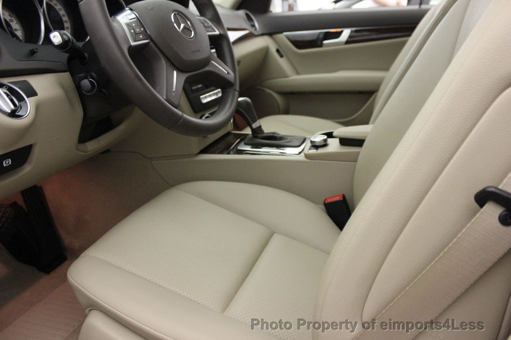 2013 Mercedes-Benz C-Class CERTIFIED C300 4Matic LUXURY MODEL AWD NAVIGATION - 16381218 - 34