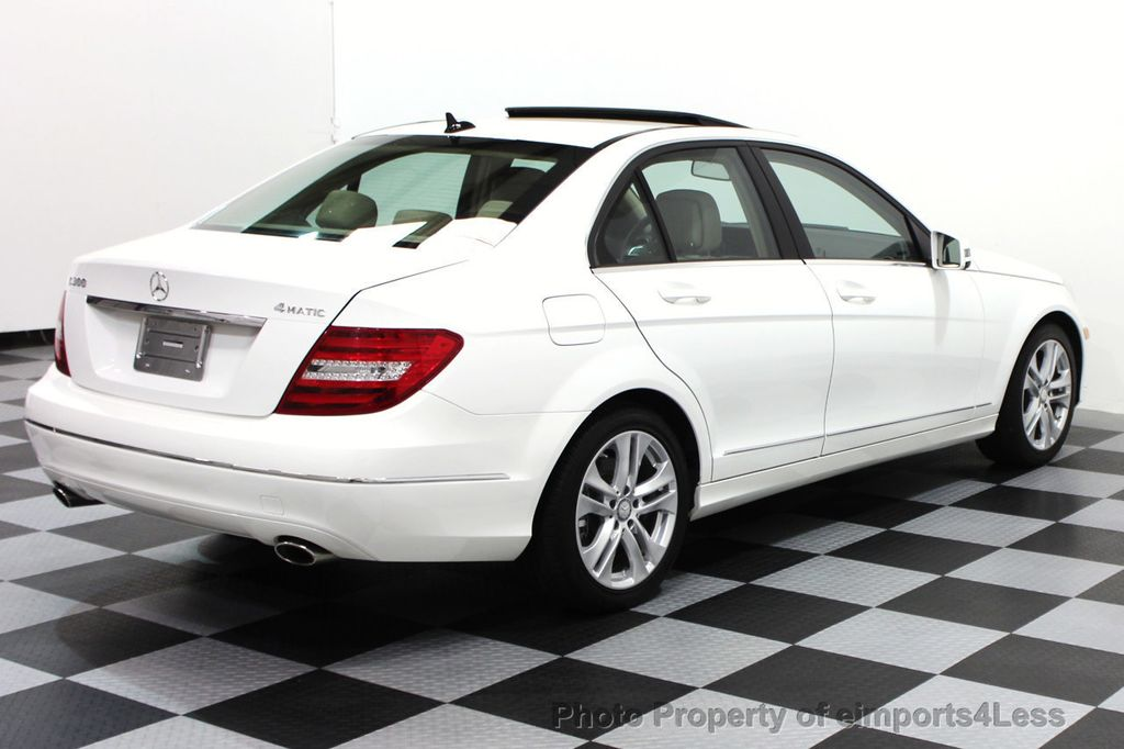 2013 Mercedes-Benz C-Class CERTIFIED C300 4Matic LUXURY MODEL AWD NAVIGATION - 16381218 - 3