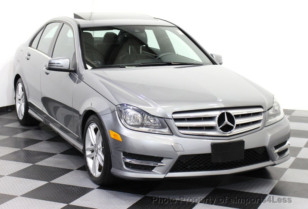 2013 used mercedes benz c class certified c300 4matic sport awd blind spot camera navi at. Black Bedroom Furniture Sets. Home Design Ideas