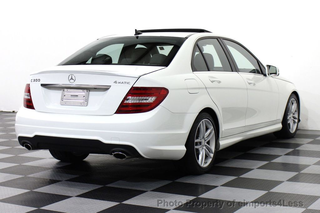 2013 used mercedes benz c class certified c300 4matic sport package awd back up cam navigation. Black Bedroom Furniture Sets. Home Design Ideas