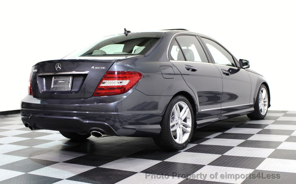 2013 Mercedes-Benz C-Class CERTIFIED C300 4Matic Sport Package AWD MULTIMEDIA NAV - 16630372 - 17