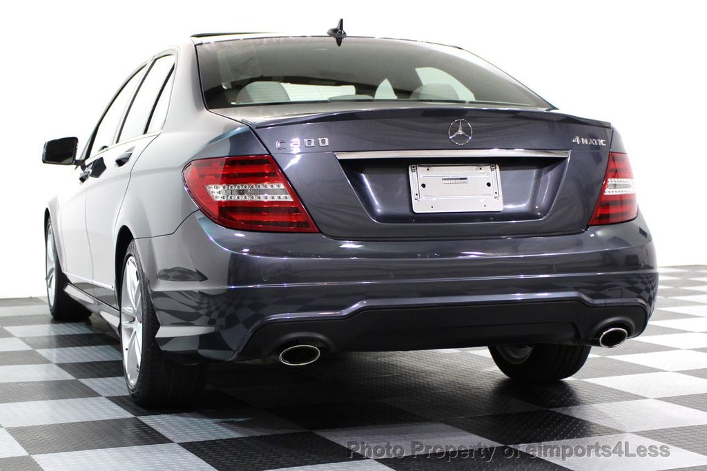 2013 Mercedes-Benz C-Class CERTIFIED C300 4Matic Sport Package AWD MULTIMEDIA NAV - 16630372 - 30
