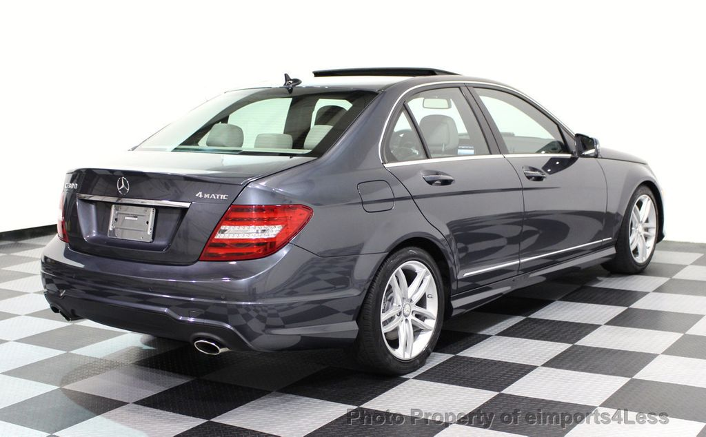 2013 Mercedes-Benz C-Class CERTIFIED C300 4Matic Sport Package AWD MULTIMEDIA NAV - 16630372 - 32