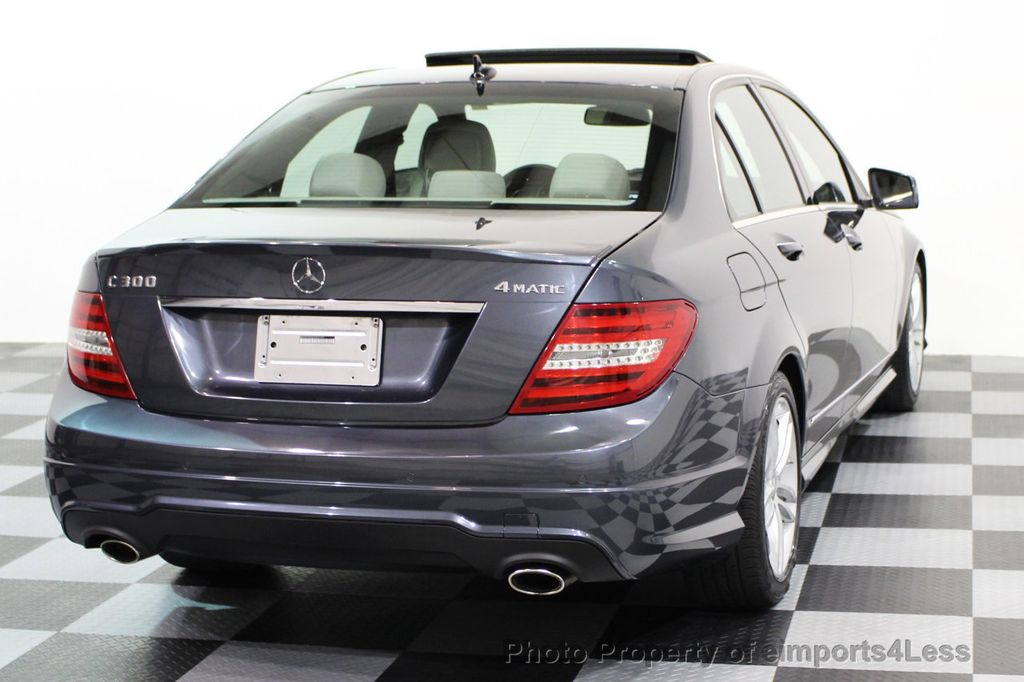 2013 Mercedes-Benz C-Class CERTIFIED C300 4Matic Sport Package AWD MULTIMEDIA NAV - 16630372 - 45