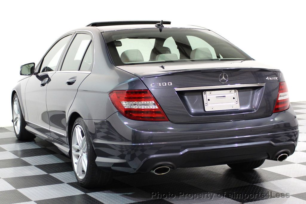 2013 Mercedes-Benz C-Class CERTIFIED C300 4Matic Sport Package AWD MULTIMEDIA NAV - 16630372 - 55