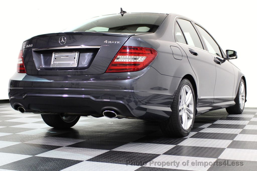 2013 Mercedes-Benz C-Class CERTIFIED C300 4Matic Sport Package AWD MULTIMEDIA NAV - 16630372 - 56