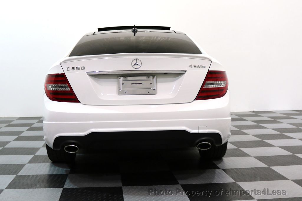2013 Mercedes-Benz C-Class CERTIFIED C350 4Matic AMG SPORT PACKAGE PLUS - 17425240 - 33