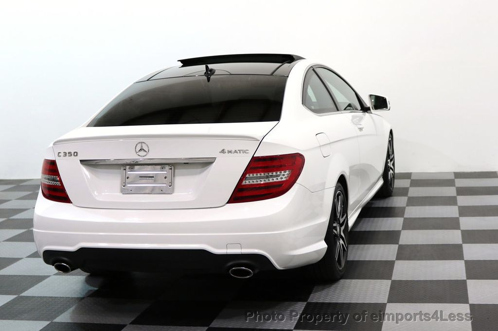2013 Mercedes-Benz C-Class CERTIFIED C350 4Matic AMG SPORT PACKAGE PLUS - 17425240 - 34