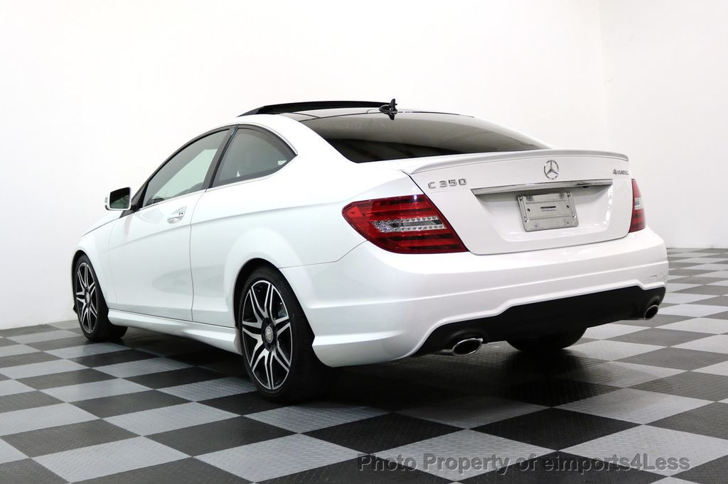 2013 Mercedes-Benz C-Class CERTIFIED C350 4Matic AMG SPORT PACKAGE PLUS - 17425240 - 47