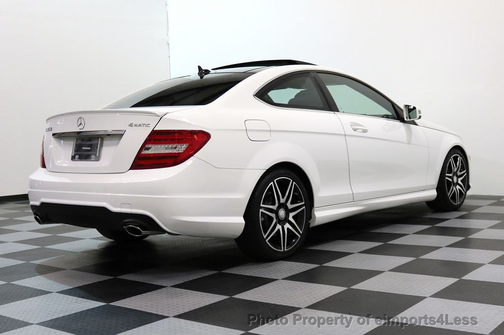 2013 Mercedes-Benz C-Class CERTIFIED C350 4Matic AMG SPORT PACKAGE PLUS - 17425240 - 48