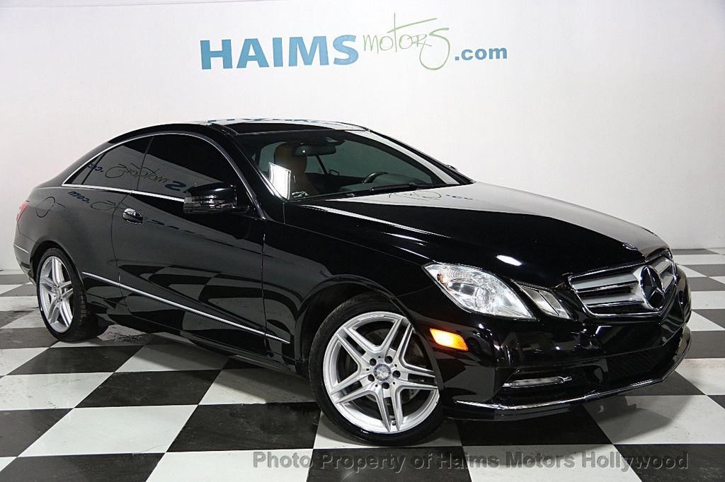 2013 used mercedes benz e class 2dr coupe e350 rwd at haims motors serving fort lauderdale. Black Bedroom Furniture Sets. Home Design Ideas