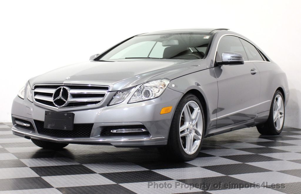 Awesome 2013 Mercedes Benz E Class CERTIFIED E350 4Matic AMG Sport Coupe NAVIGATION    14346963