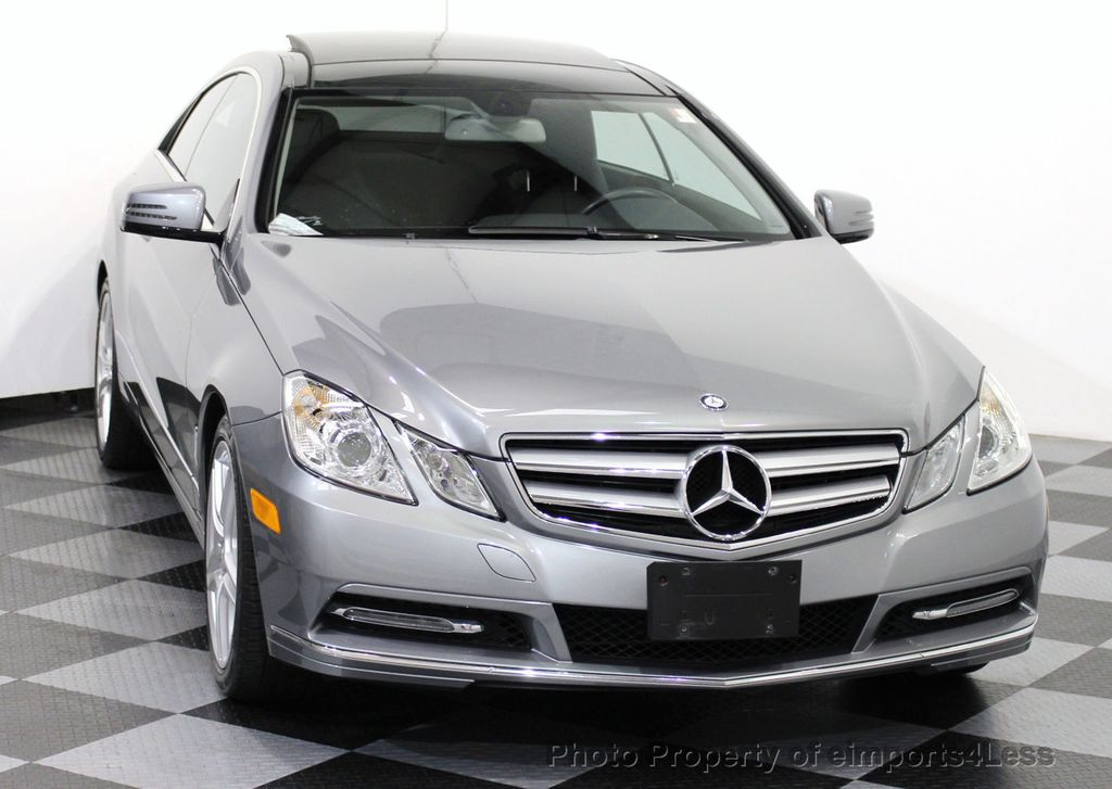 2013 used mercedes benz certified e350 4matic amg sport for Mercedes benz 350 coupe