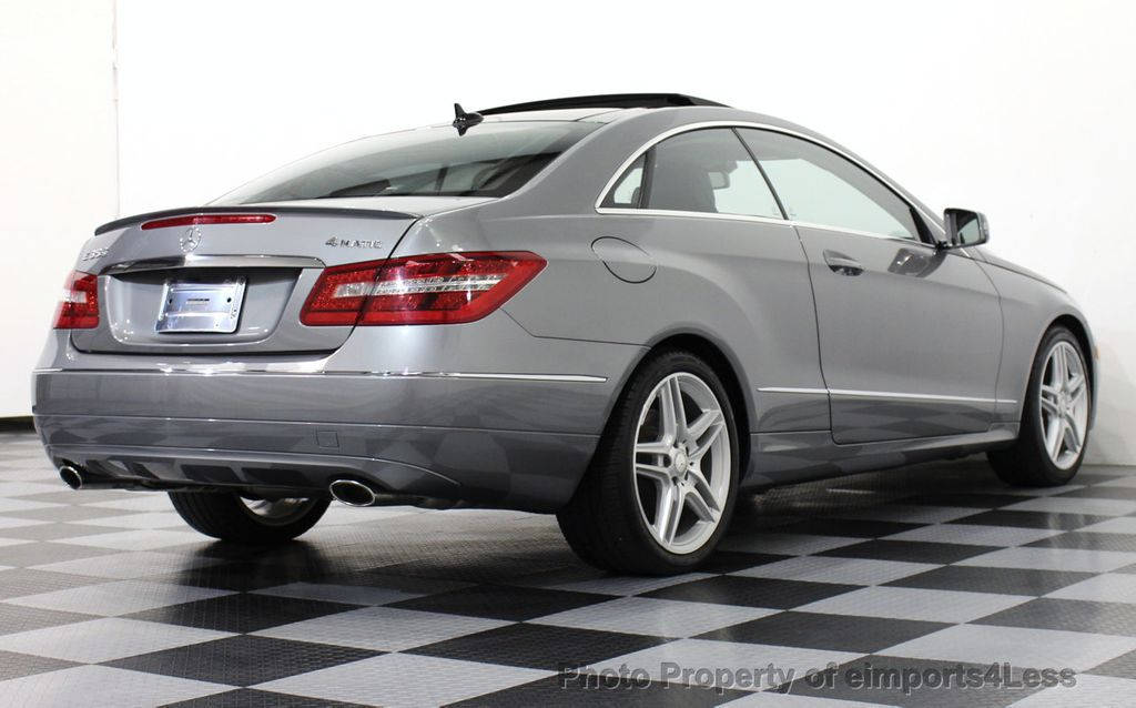 2013 used mercedes benz certified e350 4matic amg sport for Used mercedes benz e350 coupe